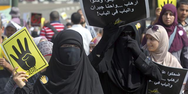 Seguidores del depuesto presidente se manifiestan en El Cairo. | Efe