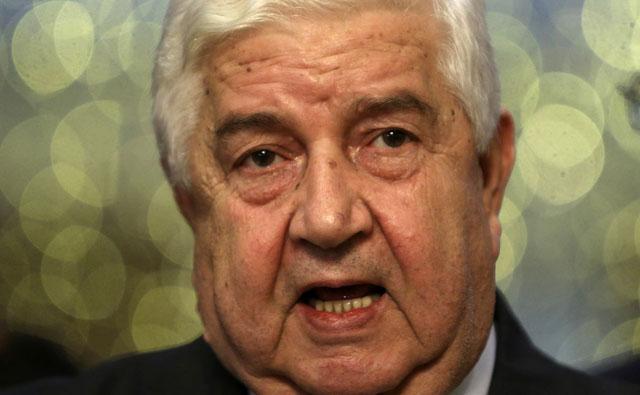 El ministro de Exteriores sirio, Walid Muallen.   Foto: Reuters