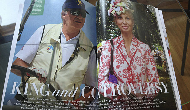 Reportaje en la edición norteamericana de Vanity Fair. | EM
