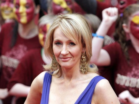 La escritoria británica, J. K. Rowling. | Jonathan Brady / Efe