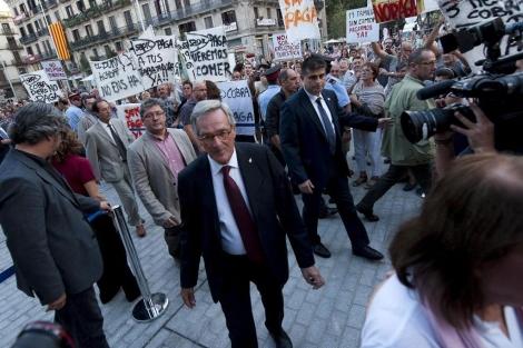 El alcalde de Barcelona, Xavier Trias.   Santi Cogolludo