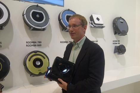 El co-fundador de iRobot Colin Angle.