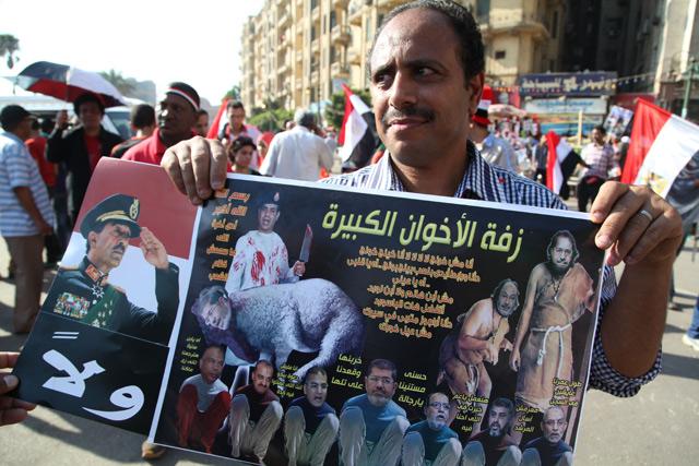Al Sisi, 'carnicero' de los Hermanos Musulmanes en Tahrir. | Francisco Carrión