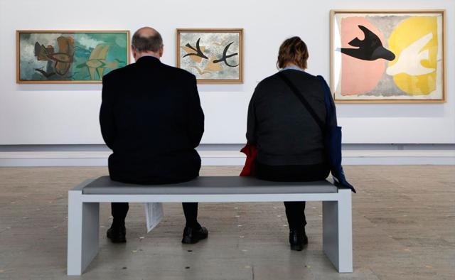 'Les Oiseaux en vol', 'Les Oiseaux' y 'L'Oiseau noir et l'oiseau blanc', de Braque. | Reuters