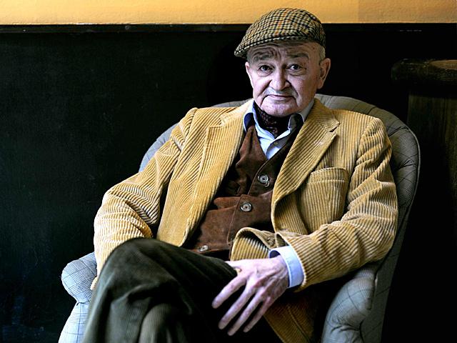 El poeta Juan Luis Panero, fotografiado en noviembre de 2011. | Santi Cogolludo
