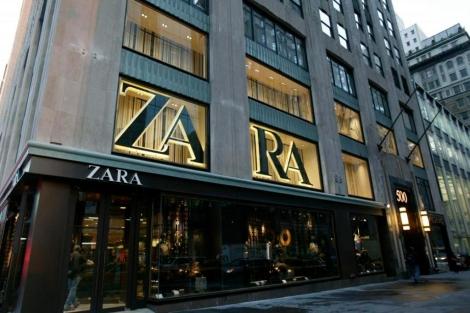 Una de las tiendas que la firma tiene en Nueva York.   Inditex
