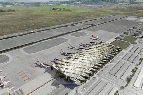 Proyecto de construcción del aeropuerto internacional. | Estudio Luis Vidal