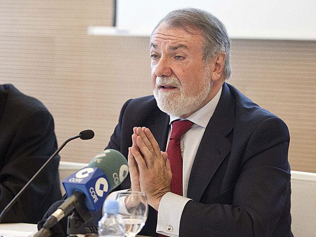 El vicepresidente del grupo del Partido Popular Europeo en la Eurocámara, Jaime Mayor Oreja, el pasado junio. | Benito Pajares