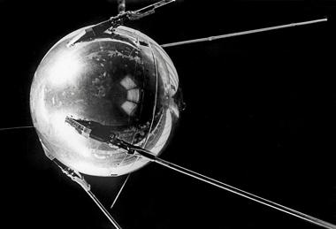 El Sputnik 1, primer satélite artificial lanzado por la URSS en 1957. | Afp