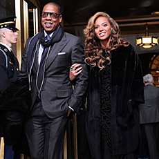 Jay Z y Beyoncé.