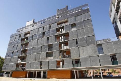 Edificio en Carabanchel adquirido por Goldman Sachs.   Sergio González