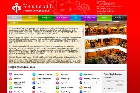 Carta de presentación del centro comercial en su página web.