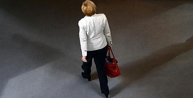 La canciller alemana, la democristiana Angela Merkel. | Afp