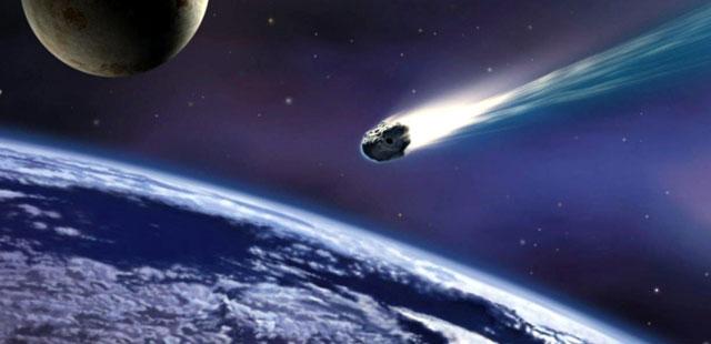 Recreación del meteorito de Sutter's Mill.