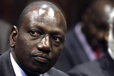 El vicepresidente de Kenia William Ruto en el Tribunal Supremo de Nairobi. | Reuters