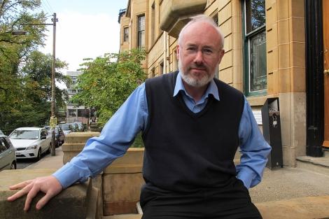 El profesor de Historia escocesa Dauvit Broun.   C. Fresneda