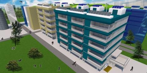 La primera fase de la aplicación permite definir el tipo de edificio. | E. M.