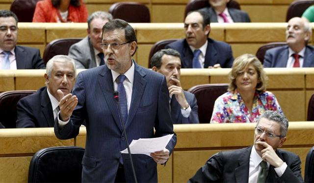 El presidente del Gobierno, Mariano Rajoy. | Efe