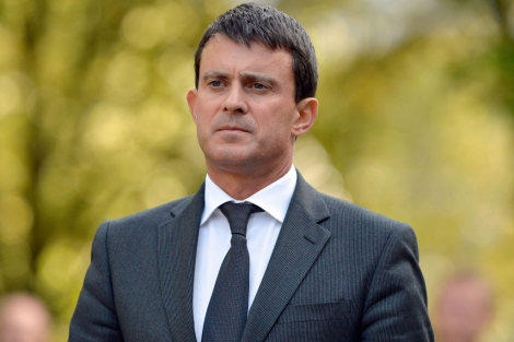 El ministro de Interior de Francia, Manuel Valls