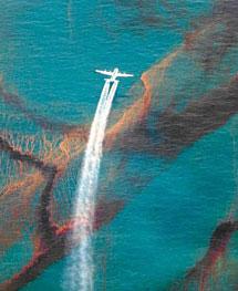 Vertido de petróleo sobre el Golfo de México| Daniel Beltra
