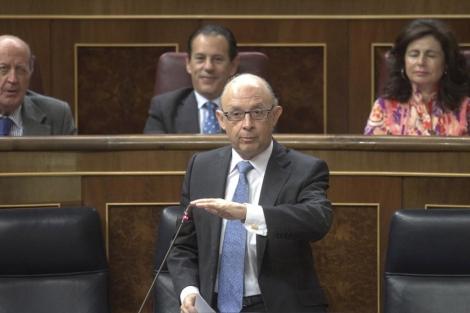 El ministro de Hacienda y Administraciones Públicas, Cristóbal Montoro. | Alberto Cuéllar
