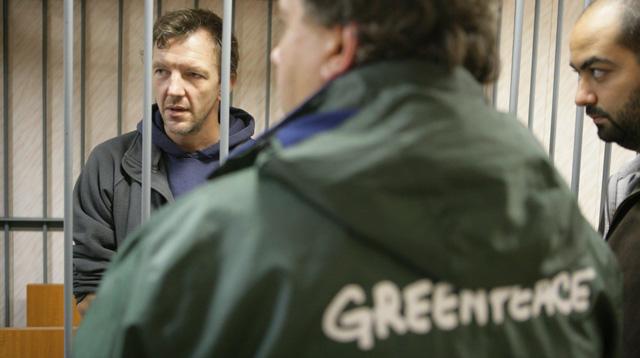 Activistas de Greenpeace detenidos en la cudad rusa de Murmansk | Efe