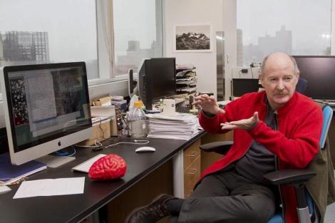 Rafael Yuste en la Universidad de Columbia. | Miguel Rajmil