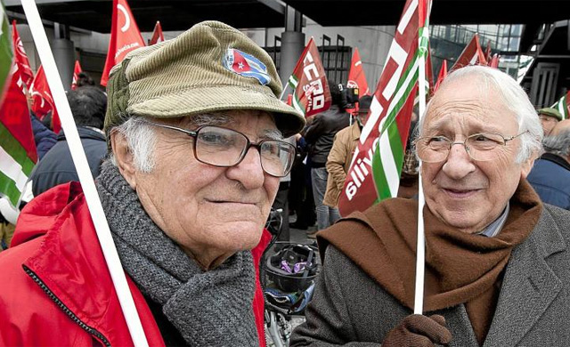 Manifestación de pensionistas. | Conchitina
