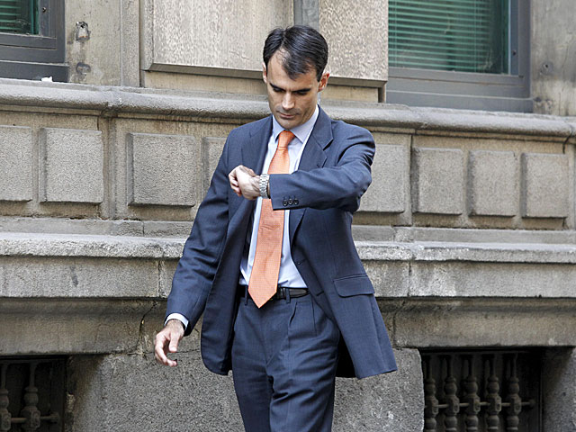 El juez de la Audiencia Nacional Pablo Ruz el pasado mes de julio. | Sergio González