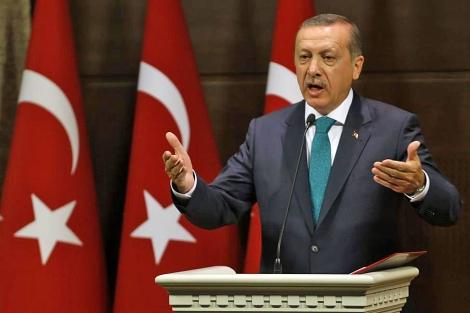 El 'premier' turco, Erdogan, anuncia las nuevas reformas en Ankara. | Reuters