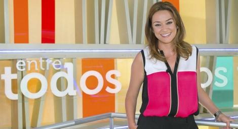 La presentadora de 'Entre todos' Toñi Moreno.