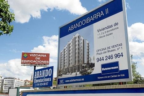 Viviendas promocionadas en 2008 por Vallehermoso en Bilbao.   Iñaki Andrés
