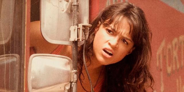 Michelle Rodríguez, en la primera entrega de 'Machete'.