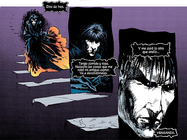 'Sandman' planea su venganza, tras escapar de su cautiverio.