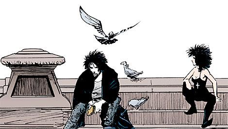 'Morfeo', con su hermana 'Muerte'.