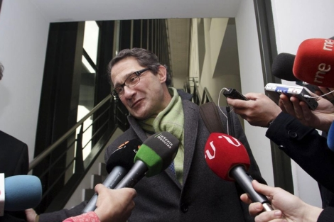 Conde Roa a la salida de los juzgados el pasado mes de marzo. | Efe