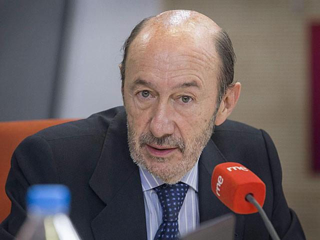 El secretario general del PSOE en el momento de la entrevista. | Efe
