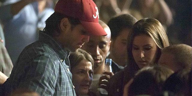 Verdasco y Boyer, el año pasado en el concierto de Enrique Iglesias en el que se conocieron. | Gtres