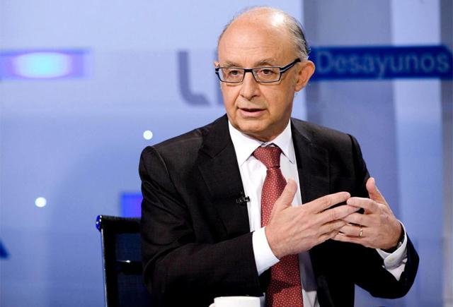 El ministro de Hacienda y Administraciones Públicas, Cristóbal Montoro. | Efe