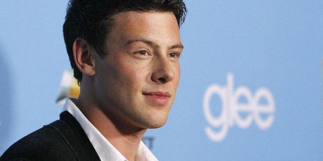 El actor, en un acto de la serie Glee. | Reuters