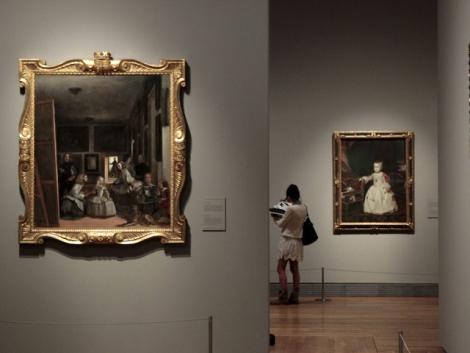 El Museo del Prado, durante la inauguración de la exposición. | Antonio Heredia