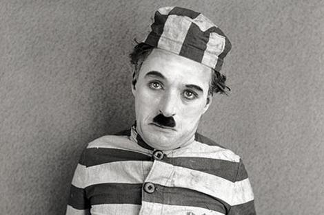 Fotograma de 'El peregrino' de Charles Chaplin.