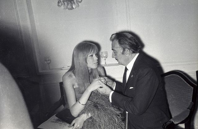 Dali y Amanda Lear, en 1963. | Noa
