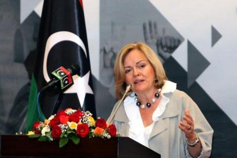 La embajadora de EEUU en Libia, Deborah Jones. | Afp