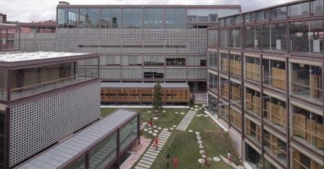 Sede del Colegio de Arquitectos de Madrid. | E.M.