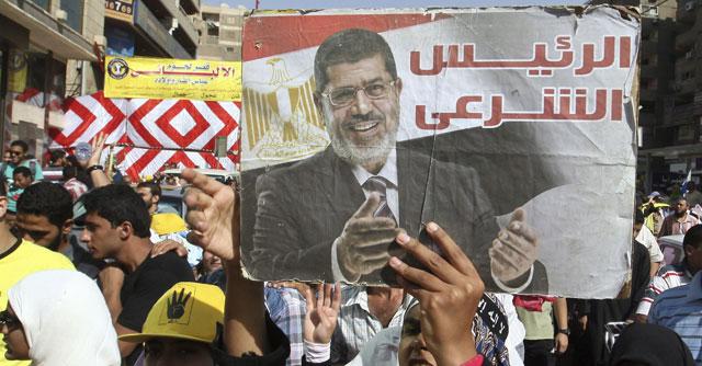 Simpatizantes del depuesto presidente Mursi protestan en El Cairo. | Efe