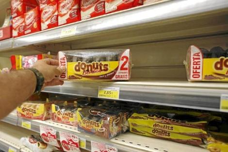 Productos de Panrico en un supermercado. | Santi Cogolludo
