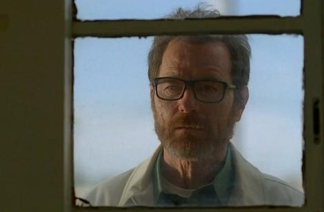 El actor Bryan Cranston, en el papel de Walter White, en el episodio final 'Felina'.