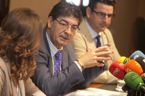 El vicepresidente de la Junta de Andalucía, Diego Valderas, en Córdoba. | M. Cubero
