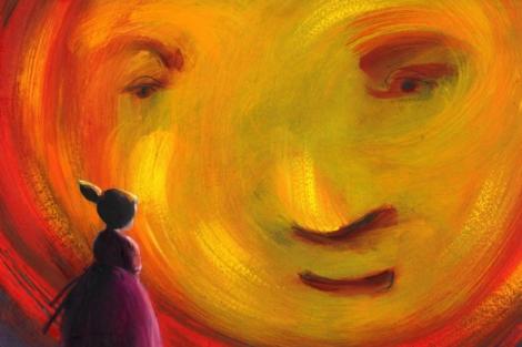 Uno de los trabajos de Carme Solé, 'Magenta, la pequeña hada'. | EL MUNDO